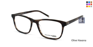Olive Havana William Morris London WM50037 Eyeglasses.