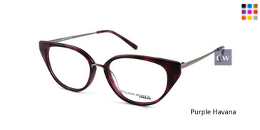 Purple Havana William Morris London WM50044 Eyeglasses.