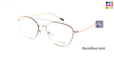 Black/Rose Gold William Morris London WM50066 Eyeglasses.