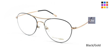 Black/Gold William Morris London WM50069 Eyeglasses.