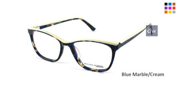 Blue Marble/Cream William Morris London WM50076 Eyeglasses.