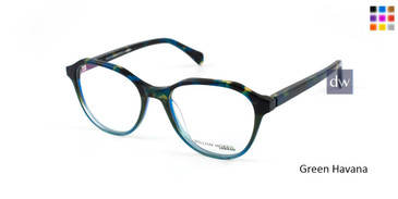 Green Havana William Morris London WM50078 Eyeglasses.