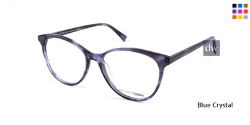 Blue Crystal William Morris London WM50079 Eyeglasses.