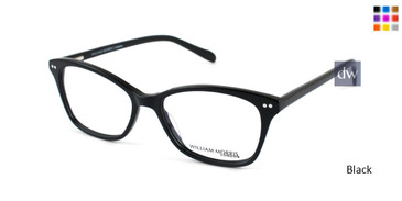 Black William Morris London WM50081 Eyeglasses.