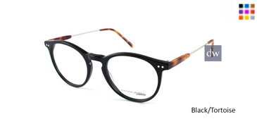 Black/Tortoise William Morris London WM50083 Eyeglasses.