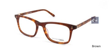 Brown William Morris London WM50084 Eyeglasses.