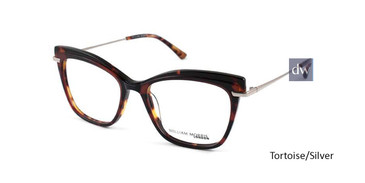 Tortoise/Silver William Morris London WM50091 Eyeglasses.