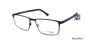 Navy Blue William Morris London WM50094 Eyeglasses.