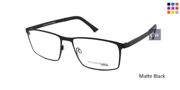 Matte Black William Morris London WM50094 Eyeglasses.