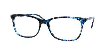 Shiny Blue Demi Daniel Walters CB5103 Eyeglasses .
