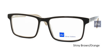 Shiny Brown/Orange Daniel Walters LG011 Eyeglasses.