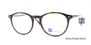 Shiny Purple Demi Daniel Walters CB5081 Eyeglasses.