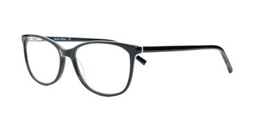 Shiny Black/Green Daniel Walters RGA020 Eyeglasses.