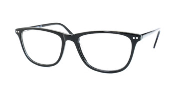 Shiny Black Daniel Walters CB5062 Eyeglasses.