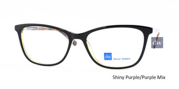 Shiny Purple/Purple Mix Daniel Walters LG039 Eyeglasses.