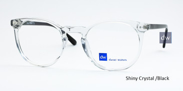 Shiny Crystal/Black Daniel Walters LG044 Eyeglasses - Teenager.