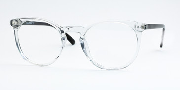 Shiny Crystal/Black Daniel Walters LG044 Eyeglasses - Teenager.