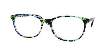 Shiny Green Mix/Green Daniel Walters RGA018 Eyeglasses.