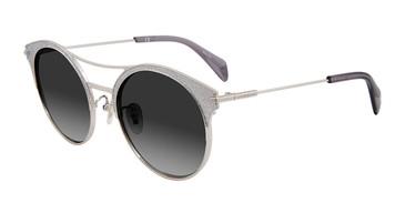 Silver Glitter Police SPL500E Sunglasses.