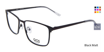 Black Matt Gios Italia GLP100086 Eyeglasses.