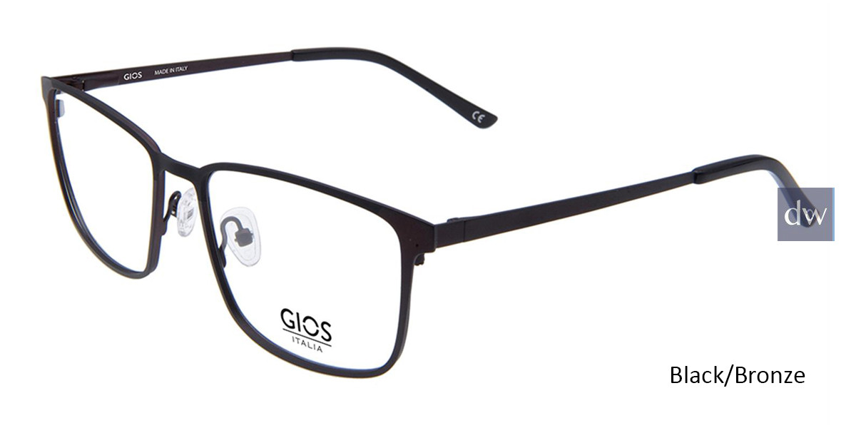 Black/Bronze Gios Italia GLP100086 Eyeglasses.