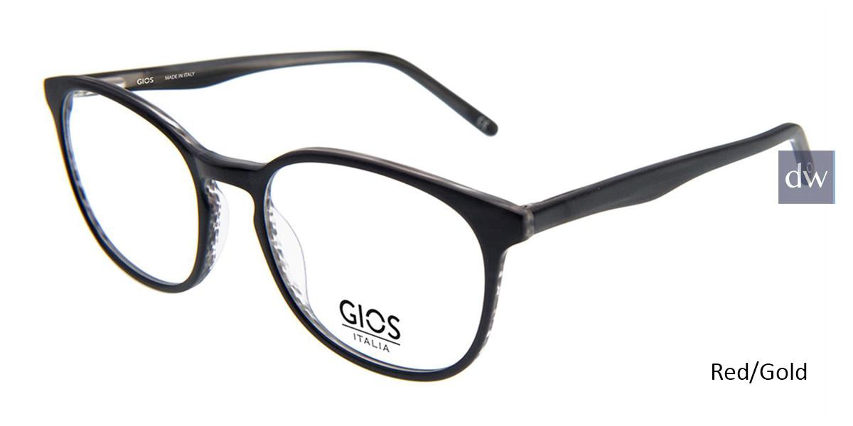 Red/Gol Gios Italia GPL900024 Eyeglasses.