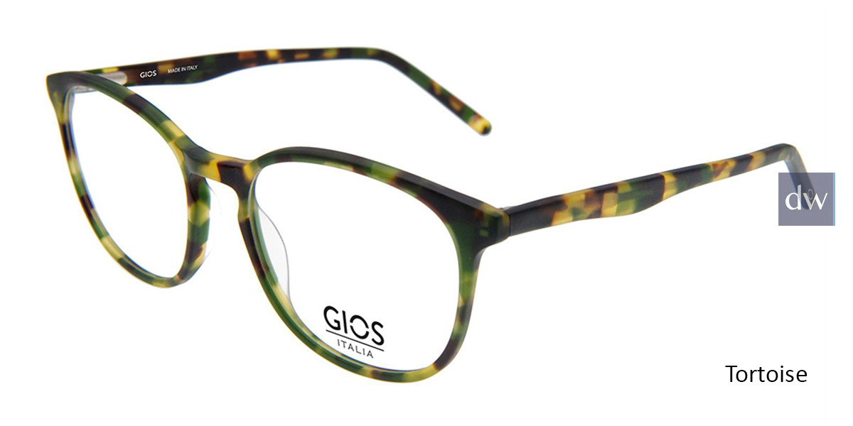Tortoise Gios Italia GPL900024 Eyeglasses.