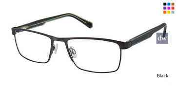 Black Superflex SF-534 Eyeglasses