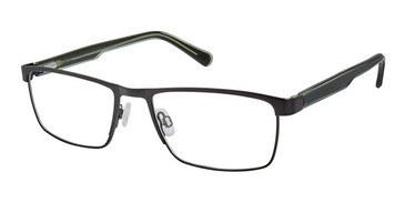 Black Superflex SF-534 Eyeglasses.