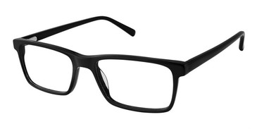 Black Superflex SF-531 Eyeglasses.