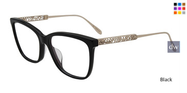 Black Chopard VCH254 Eyeglasses.