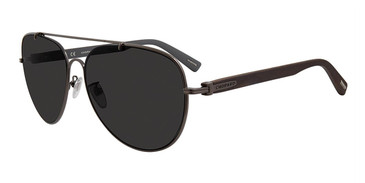 Dark Gunmetal Chopard SCHC89 Sunglasses.