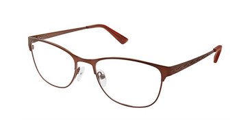 Brown Superflex Titan SF-1096T Eyeglasses