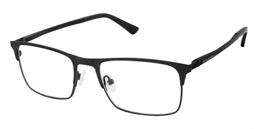 Black Superflex Titan SF-1107T Eyeglasses.