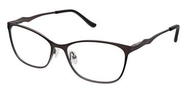 Pewter Superflex Titan SF-1100T Eyeglasses.