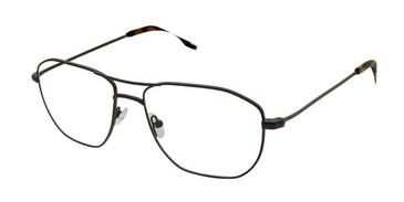 Black Evatik 9189 Eyeglasses.
