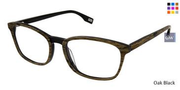 Oak Black Evatik 9187 Eyeglasses