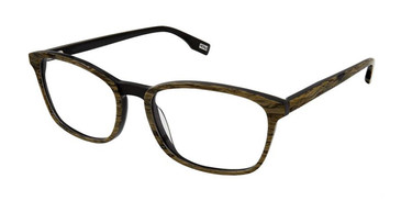 Oak Black Evatik 9187 Eyeglasses.
