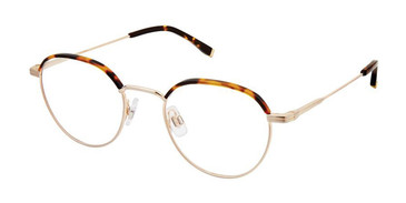 Havana Gold Evatik 9182 Eyeglasses - Teenager.
