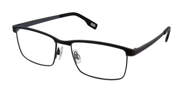 Black Charcoal Evatik 9181 Eyeglasses.