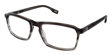 Grey Smoke Evatik 9180 Eyeglasses.
