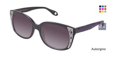 Aubergine Fysh 2002 Sunglasses.