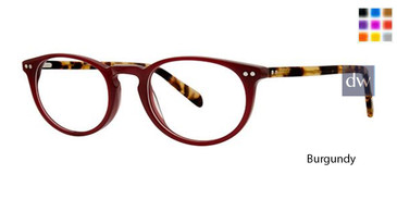 Burgundy Deja Vu 9018 Eyeglasses