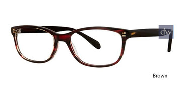 Brown Deja Vu 9019 Eyeglasses