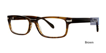 Brown Deja Vu 9022 Eyeglasses