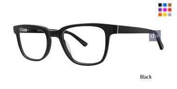 Black Deja Vu 9023 Eyeglasses