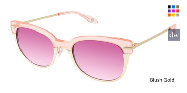 Blush Gold 2041 Sunglasses.