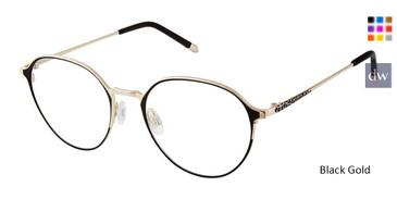 Black Gold Fysh 3622 Eyeglasses.