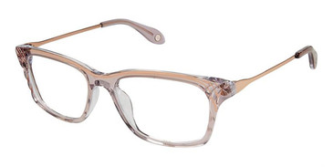 Blush Rose Gold Fysh 3623 Eyeglasses.