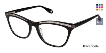 Black Crystal Fysh 3624 Eyeglasses.